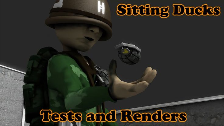 Sitting Ducks Tests and Renders - War Animations - Short Film in Progress