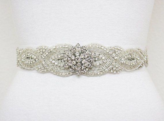 Beaded Belts for Wedding Gowns_Wedding Dresses_dressesss