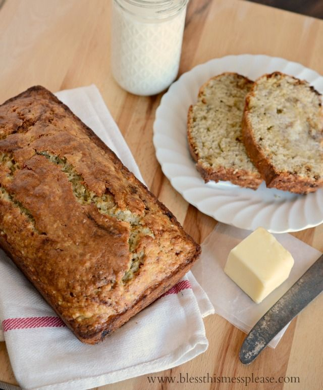 Perfect classic banana bread - ATKs recipe with melted butter and yogurt in the batter for the win. Youll never try another recipe!