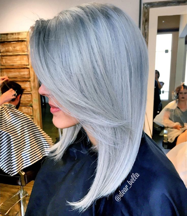 78 Best Silver Gray Charcoal Granny Hair Color Images On
