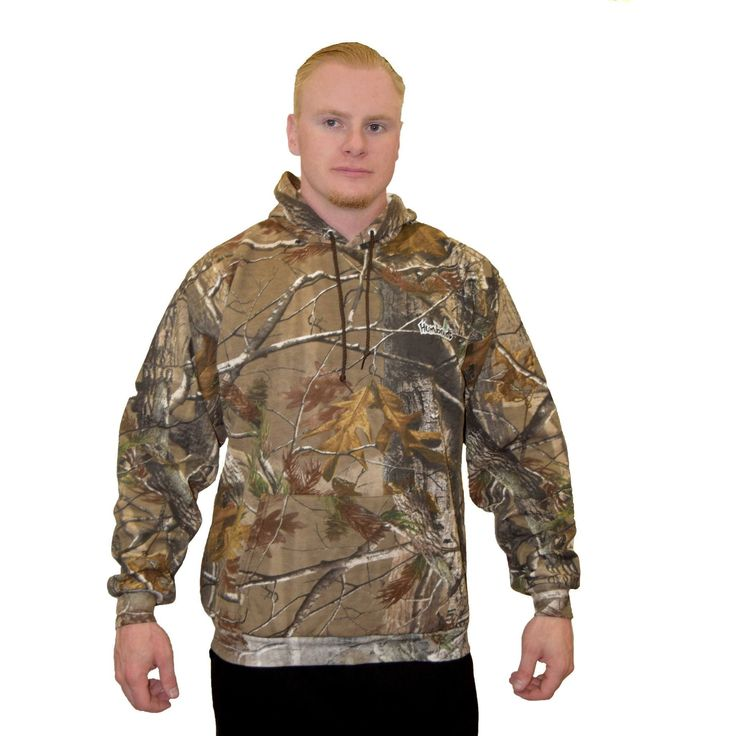 Realtree camo hoodie - Realtree AP camo mens pullover hoodie has humboldt treelogo embroidered on front left chest. This is the licensed Realtree Camo...