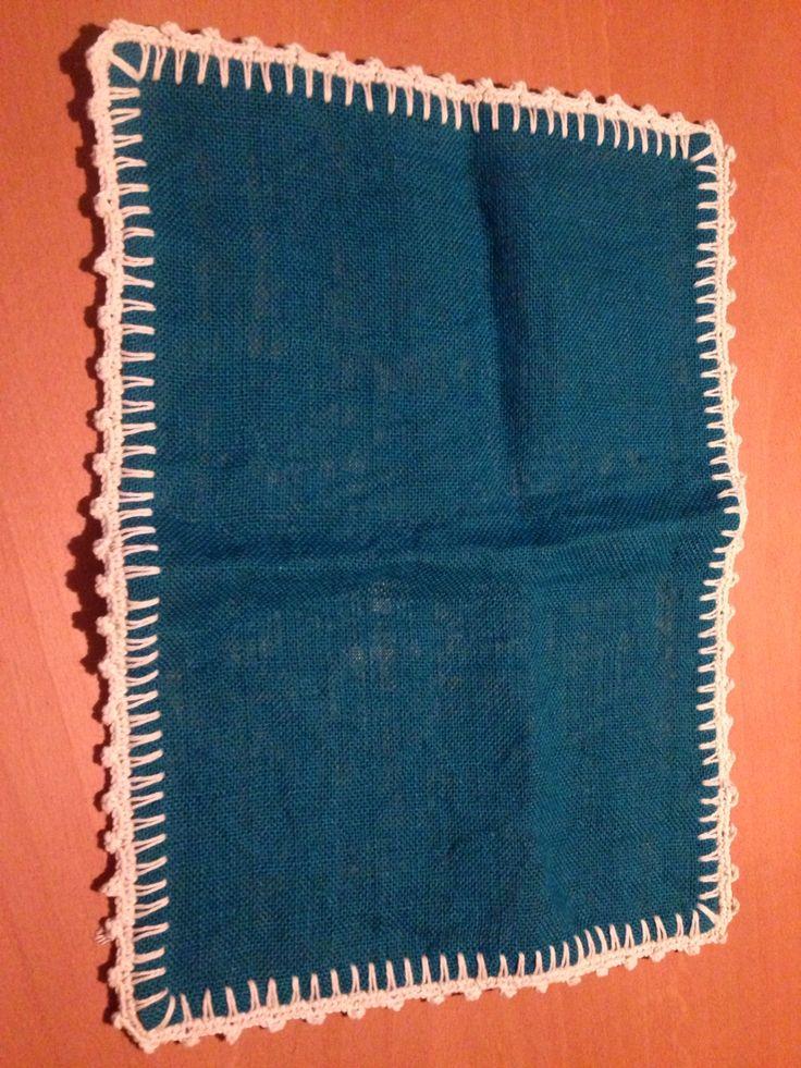 Individual orilla crochet