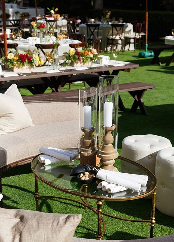 Wedding reception lounges have become a popular thing in recent years. It's a great way to give wedding guests a cozy place to relax, chat, and enjoy a drink while waiting for the dinner reception to begin. Hint: The lovelier the reception lounge, the less likely guests are to realize they are even waiting for the wedding party to arrive. Here are 20 great reception lounge ideas with the most fabulous decor!