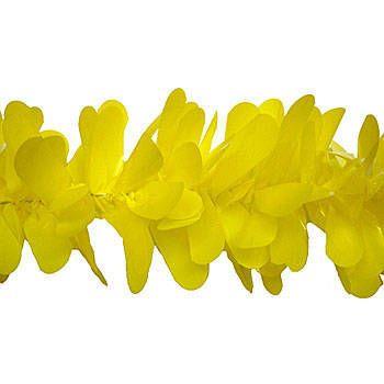 "Festooning 4""x48' Vinyl Yellow. Qty. of 1 - 9 price $28.99 roll"