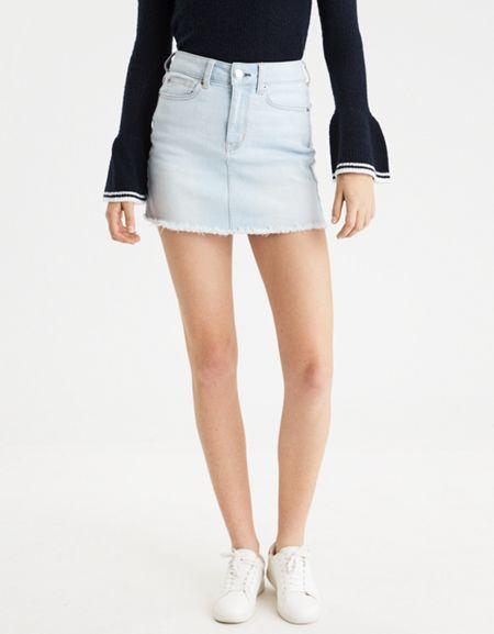 American Eagle Outfitters AE High-Waisted Mini Skirt