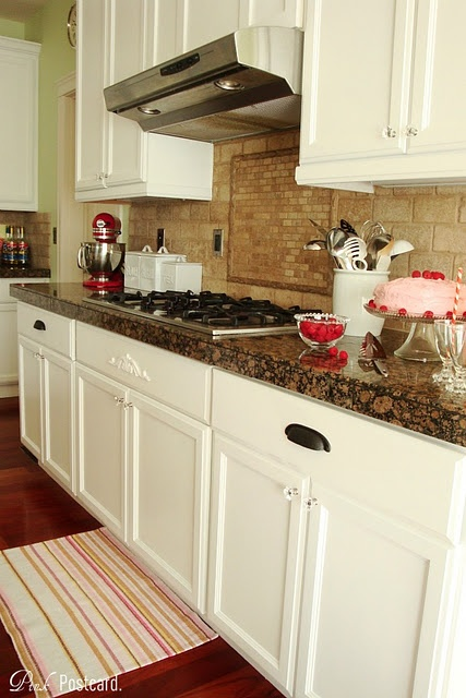 Best Wood Kitchen Cabinets Updated To White Backsplash Tile 400 x 300