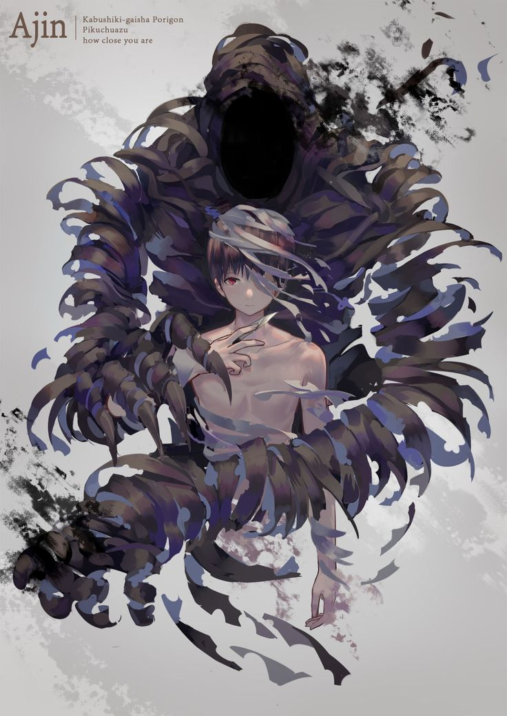 Nagai Kei ||| Ajin Fan Art by Nori_伪睿山紫菜 on Pixiv