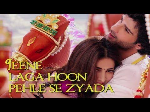 ▶ Jeene Laga Hoon Song Video with Lyrics - Ramaiya Vastavaiya - Atif Aslam & Shreya Ghoshal - YouTube