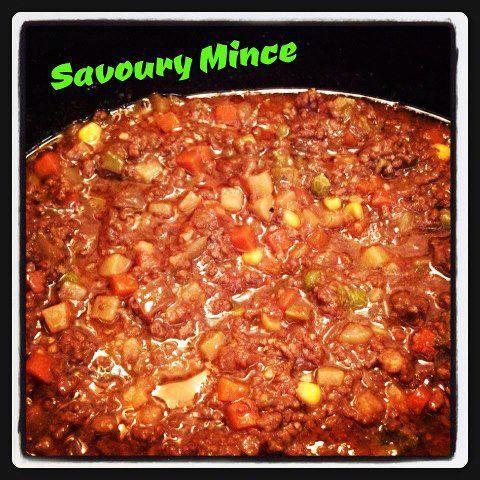 Savoury Mince