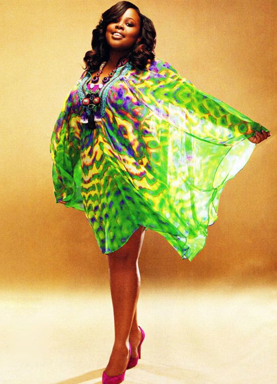 Amber Riley Lives in Color in Essence Magazine, March 2011