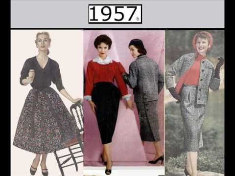 Women's fashions on Video: year by year: 1949-1980. Nice ...  The music is 'Aphrodite' by Alessandro Carabelli (details at All About Jazz website)