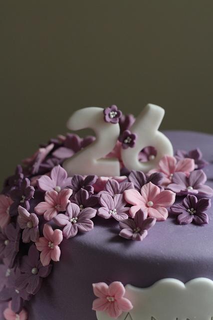 Petunia Purple Cake 3 by sweetius.com, via Flickr
