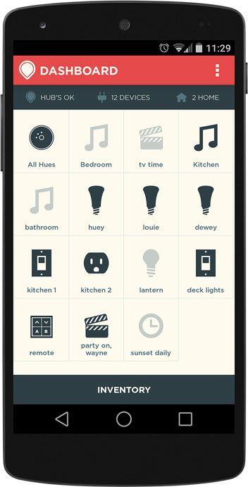 Revolv app to que up your home when you come home. The SMART HOME!!!