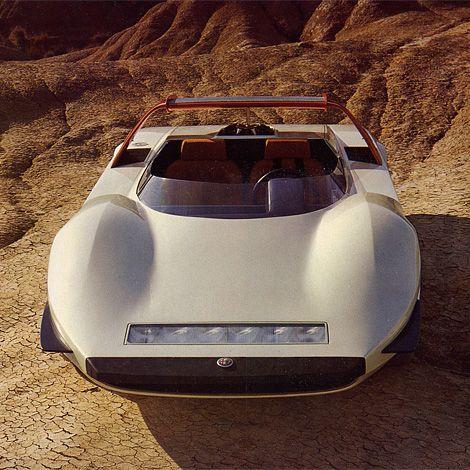 Pininfarina Alfa Romeo Stradale P33.