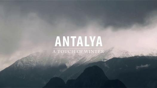 Antalya da kış ayları