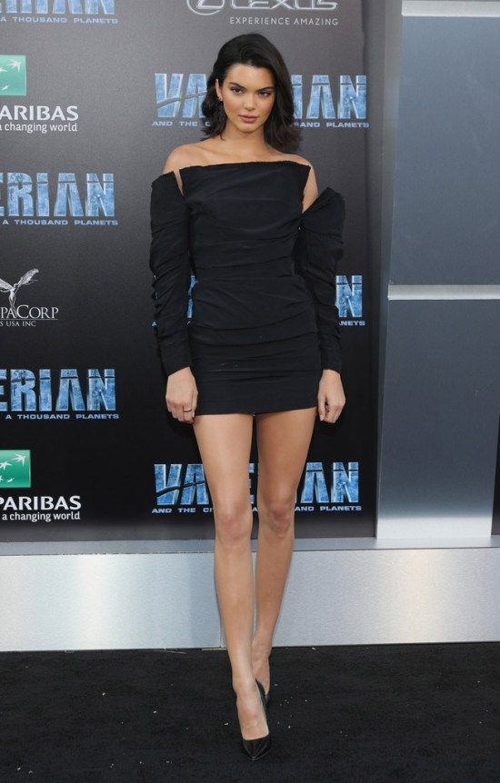 Kendall Jenner Goes Leggy at the Valerian and The City of a Thousand Planets Premiere