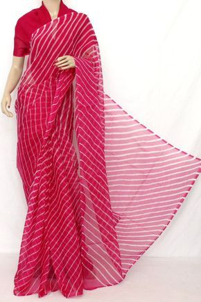 Traditional Bandhani (Tie-n-Die) Semi - Chiffon Saree (With Blouse ) 12619 , Buy Traditional Laheria Sarees online, Pure Traditional Laheria Sarees, Trendy Traditional Laheria Sarees , , online shopping india, sarees , sweets, cameras, shoes, watches, appliances, apparel, sweets online in india | www.maanacreation.com
