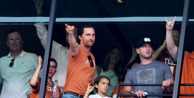 Matthew McConaughey Gave The Texas Longhorns An Awesome Motivational Speech Before Their Upset Win Vs Notre Dame