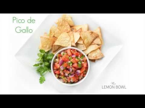 Baked Tortilla Chips - The Lemon Bowl