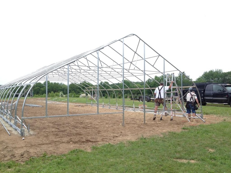 working on the unh rimol greenhouse donation project the completed frame - Rimol Greenhouse Of Photos