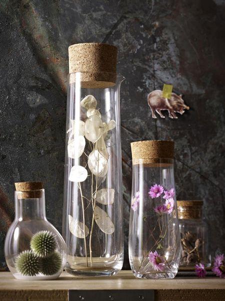 Getrocknete Blumen 6 mal anders inszeniert  - Wohnidee