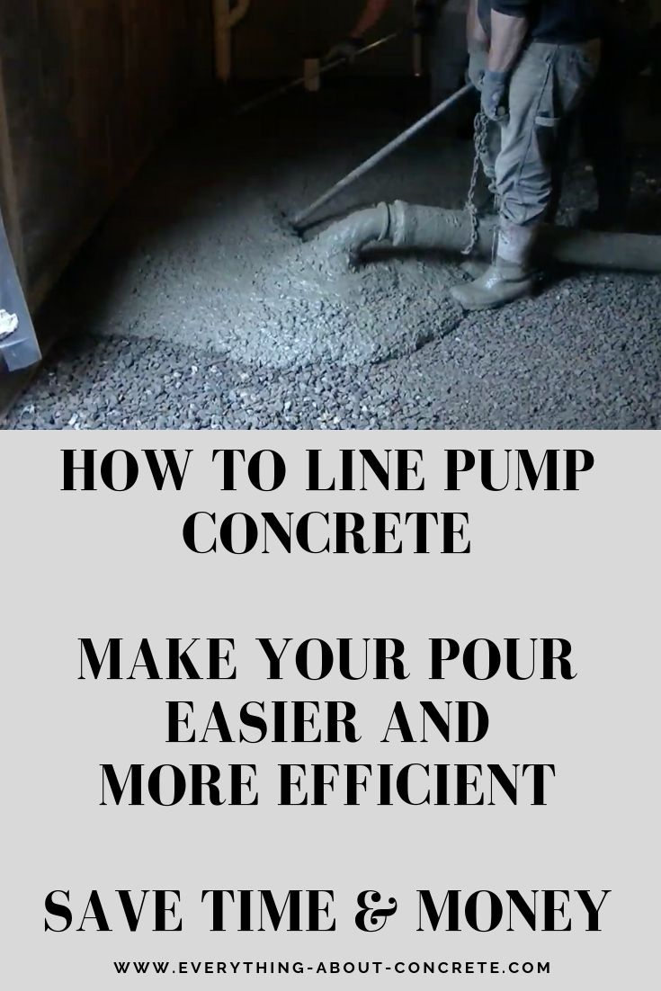 Pouring Concrete In A Basement After The House Is Built Is Always Challenging Especially If There Is Only O Concrete Basement Floors Concrete Stained Concrete