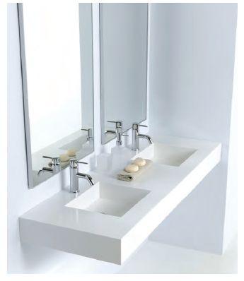 Oltre 25 fantastiche idee su doppio lavabo da bagno su - Mi bagno troppo ...