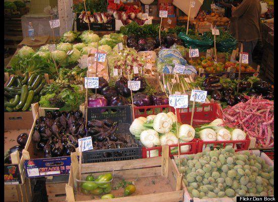 Palermo, Sicily market