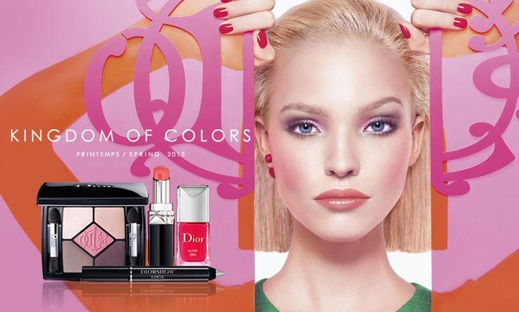 El maquillaje de Dior para esta primavera - http://www.mujercosmopolita.com/el-maquillaje-de-dior-para-esta-primavera.html