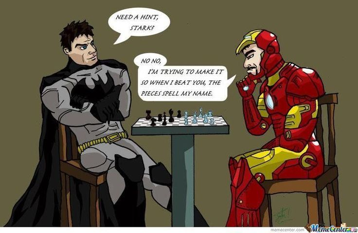 iron man memes | Batman Vs. Iron Man - Meme Center