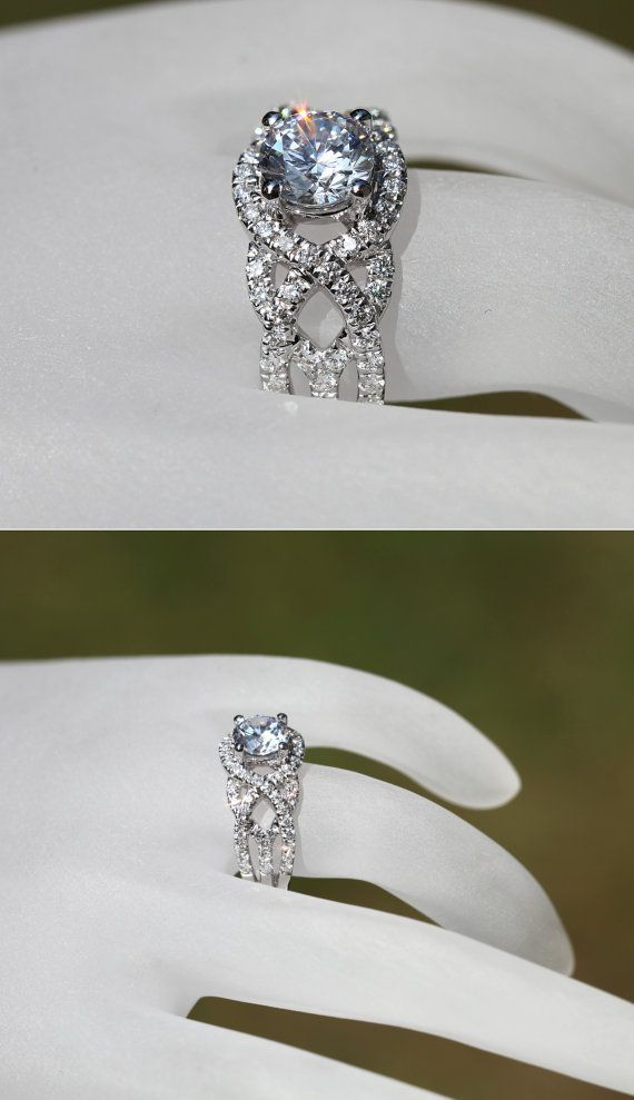 717 Best Images About Wedding Rings On Pinterest