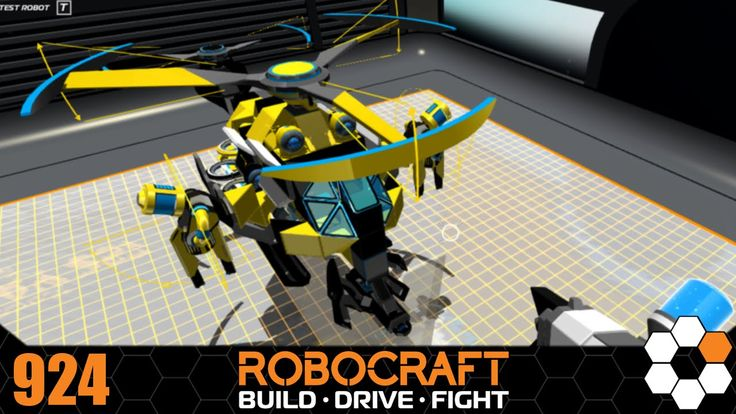 Robocraft - 'BumbleBee' Build