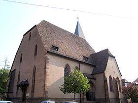 Église Saint-Jean-l'Evangéliste de Wissembourg