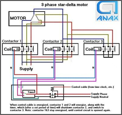 df4c7c1e00c544f594a49b4f9be1d85c delta connection motors 10 best star delta starter images on pinterest electrical star delta starter wiring diagram explanation pdf at fashall.co