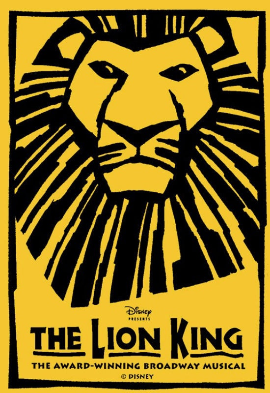 The Lion King Musical - I wen to see this and it was absolutely AMAZING. It's a once in a lifetime experience.