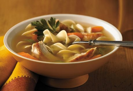 Sometimes you just want a good, old-fashioned chicken noodle soup...no fancy ingredients...just great flavor. Give this version a try...all you need is 6 ingredients and 35 minutes to make a home-style soup that you'll really enjoy.