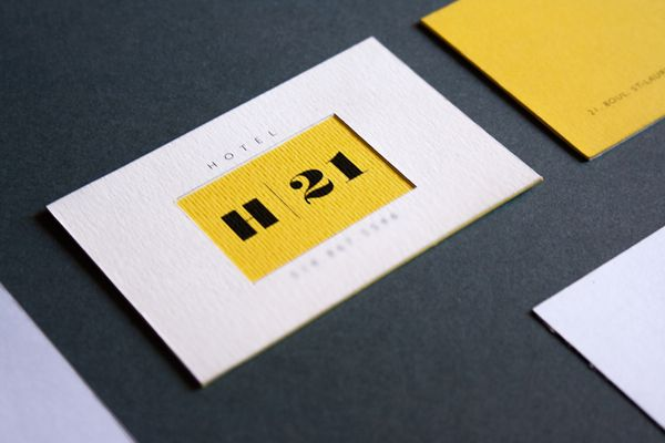 HOTEL | 21 by Nicola Di Tullio, via Behance