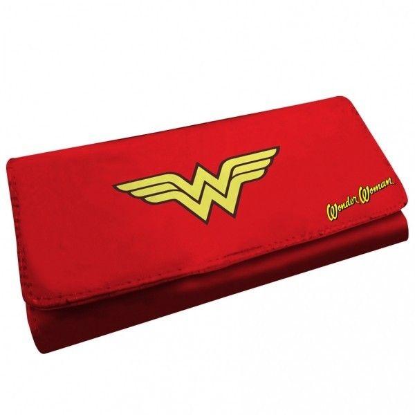 Carteira Mulher Maravilha Logo #WonderWonman #MulherMaravilha