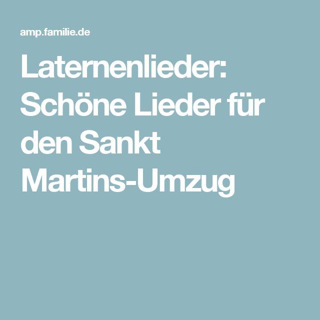 Laternenlieder: Schöne Lieder für den Sankt Martins-Umzug