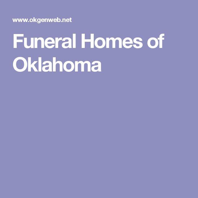 Funeral Homes of Oklahoma