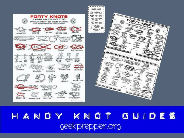 handy knot guides