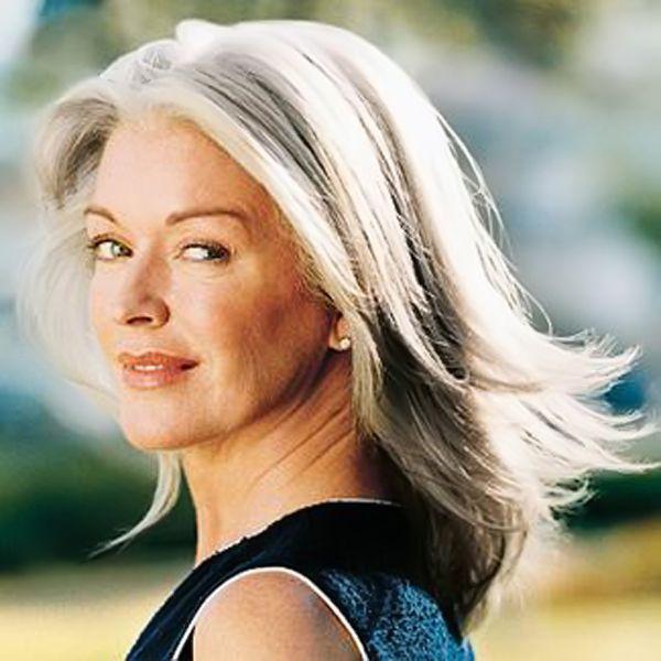 lange Haarmodelle - Lange Frisuren für Frauen über 50