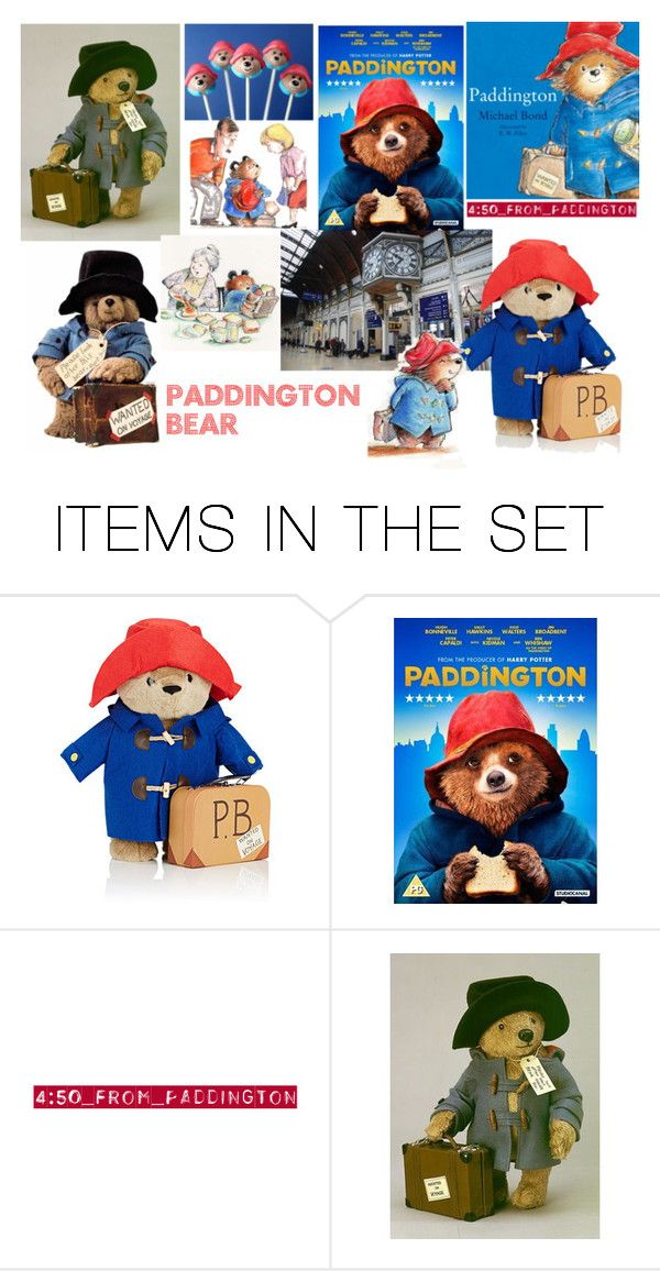 """Paddington Bear!"" by emily-dickson-1 ❤ liked on Polyvore featuring art"