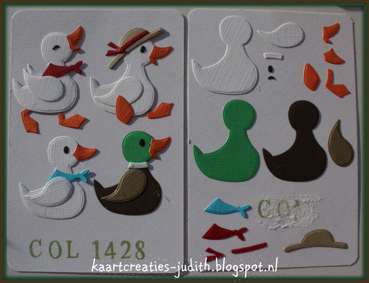 Duck Family (1) Col1428 - Marianne Design