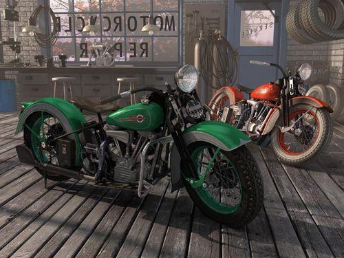 17 Best Images About Harley Davidson Art On Pinterest