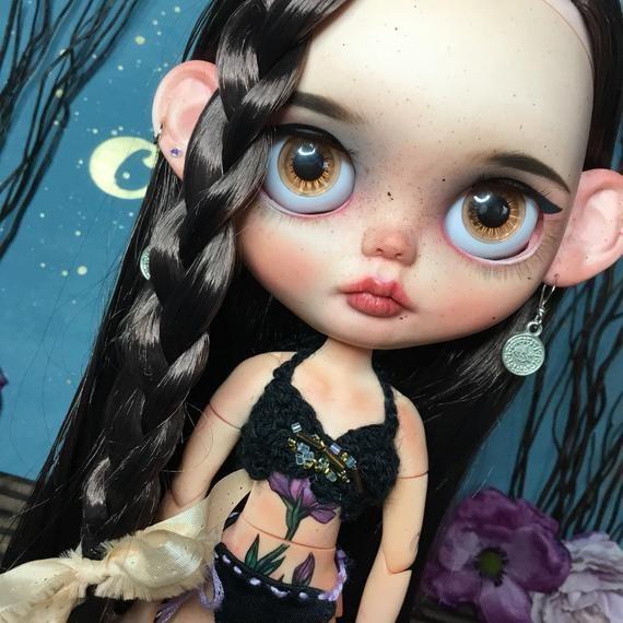 Bliss Ooak Custom Blythe Doll Fake Factory Blythe By Etsy