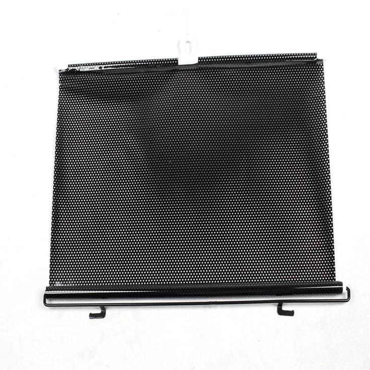 "27.6"" x 15.7"" Retractable Car Side Window Sun Shade Roller Protector Black"
