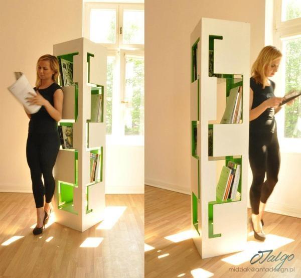 the book shelf on Behance