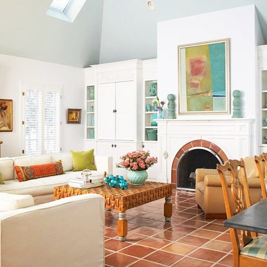 I Like The Floor Tile Color Style: 47 Best Saltillo Tile Design Ideas Images On Pinterest