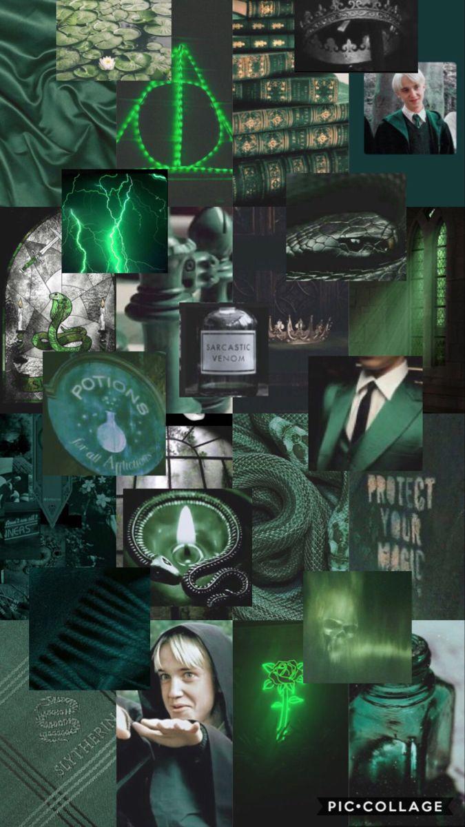 Draco Malfoy Slytherin Wallpaper Harry Potter Wallpaper Slytherin